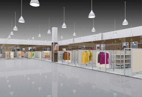燕莎奥特莱斯品牌形象整体规划设计图片