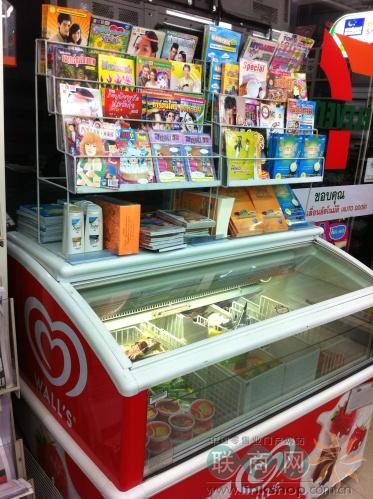 独家 泰国7 11便利店部分商品陈列 下