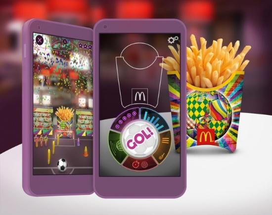 McDonald麦当劳世界杯薯条包装设计图片